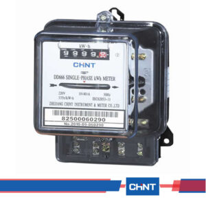 Chint DD666-Single-phase-Electromechanical-Watt-hour-Meter