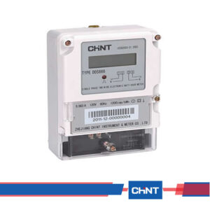 Chint DDS666-Single-phase-Electromechanical-Watt-hour-Meter