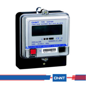 Chint DDSF666-Single-phase-Electromechanical-Watt-hour-Meter