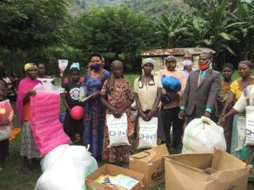 Chint Uganda Relief Aid with Winnie Kiiza