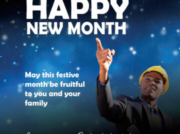 Happy New Month December 2020