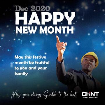 Happy New Month December 2020